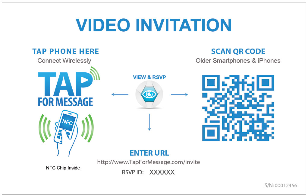 Invitation And Event Management Tapformessage Video Greeting